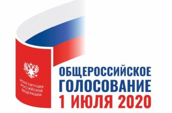 Голосование по поправках через Госуслуги 1 июля 2020 года